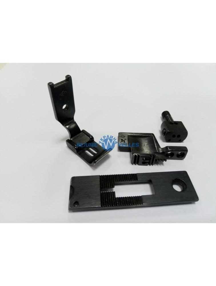 Игольный комплект 1/8 (3,2 мм)  для двухигольной машины