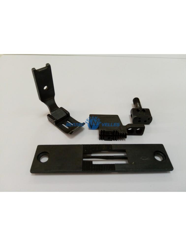 Игольный комплект 3/16  (4,8 мм)  для двухигольной машины