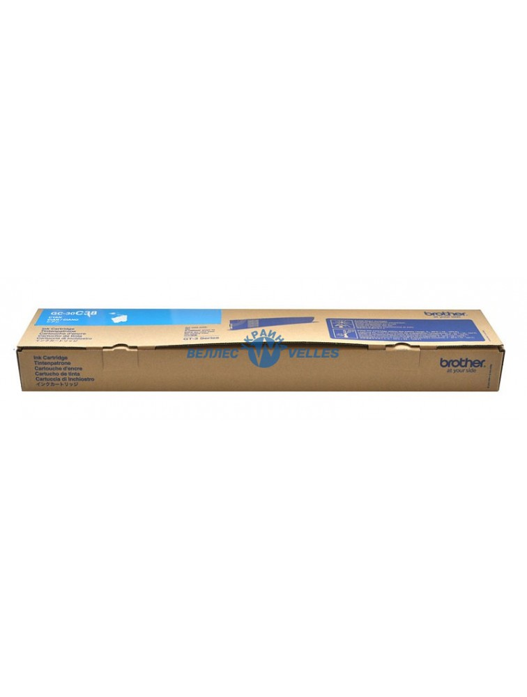 Картридж для принтера голубой 380 мл. GC-30С CYAN. 380 сс.