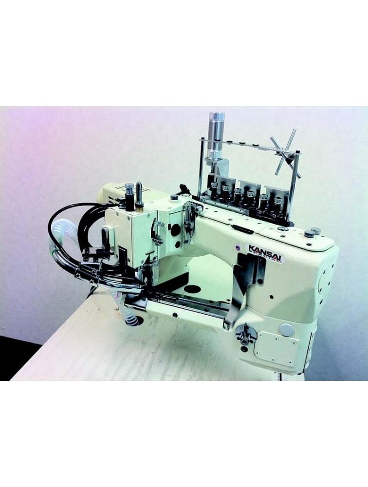Kansai Special FSX-6604MH-DD-60/CS-2|FL Промышленная плоскошовная швейная машина со свободным рукавом со встроенным сервомотором