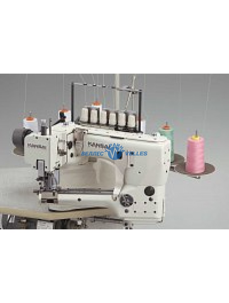 Kansai Special FSX-6604MH-DD-60/CS-2FL Промышленная плоскошовная швейная машина со свободным рукавом