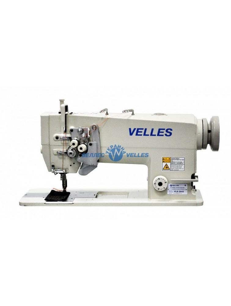 VELLES VLD 2845 Промышленная двухигольная швейная машина челночного стежка