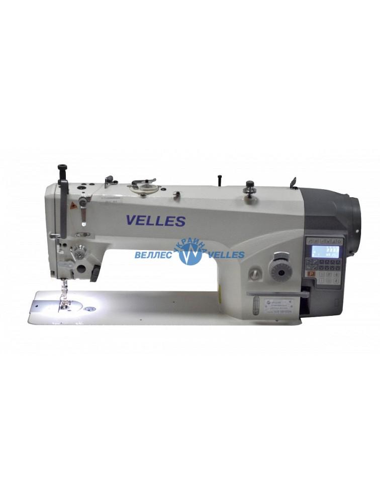 VELLES 1115DD VLS Промышленная одноигольная швейная машина челночного стежка со встроенным в головку двигателем