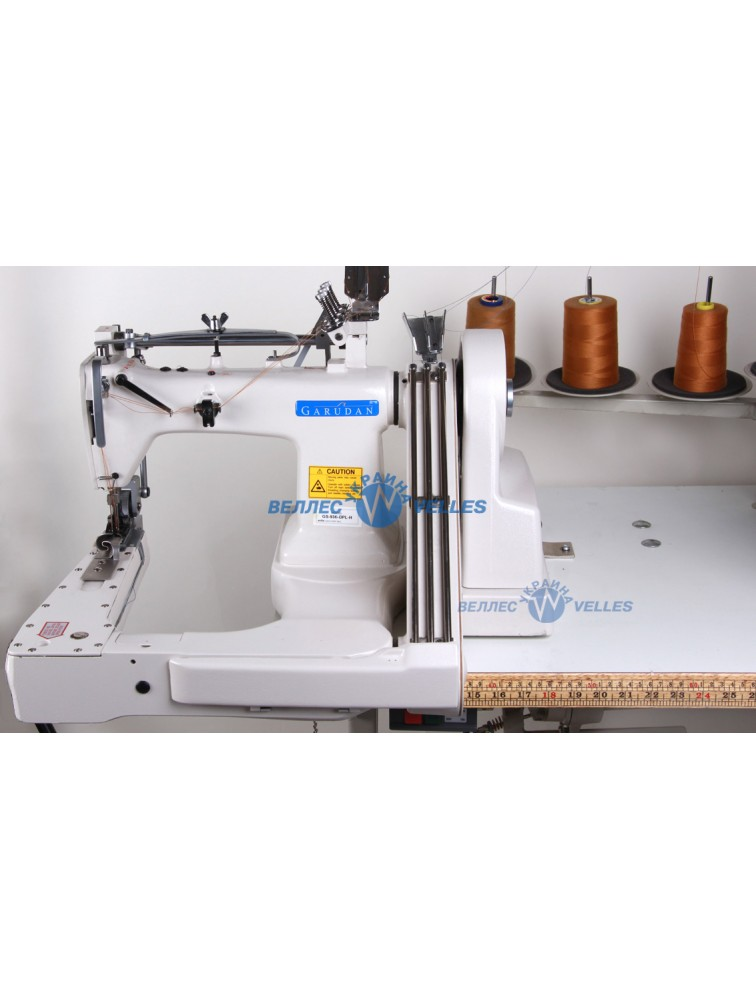 Промышленная специальная швейная машина с П-образной платформой Garudan GS 936 DPL-H