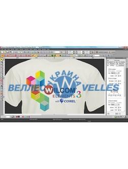 Программное обеспечение для создания дизайнов вышивки Wilcom Embroidery Studio E3 Desining with CorelDraw
