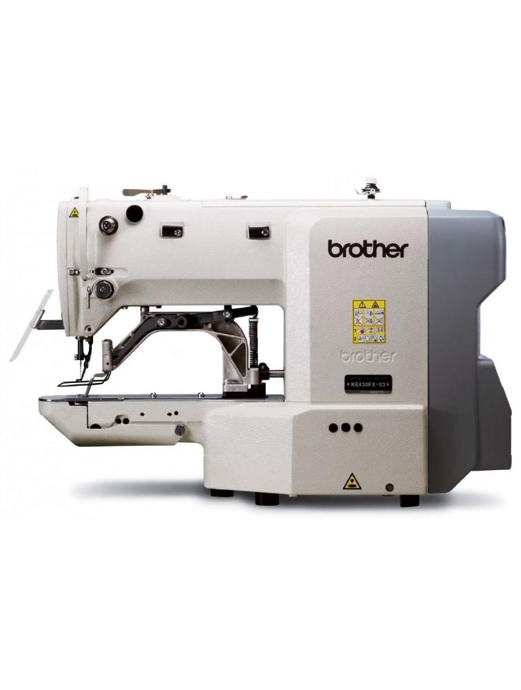 Промышленная закрепочная швейная машина Brother KE-430FX-03, -05, -0K, -0F